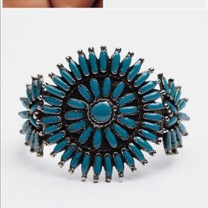 Free People Jewelry - Free People Turquoise Navaho Cuff
